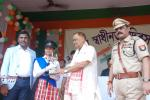 Minister distributed prizes among winners of various competitions organised on the occasion
