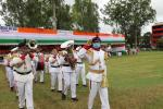 March-Past on the occassion of 74th Independence Day.