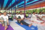 Celebration of 5th International Yoga Day by Sonitpur District Administration