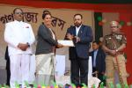 Minister Sri Keshab Mahanta felicitated individuals and organisations making contributions in various walks of life.